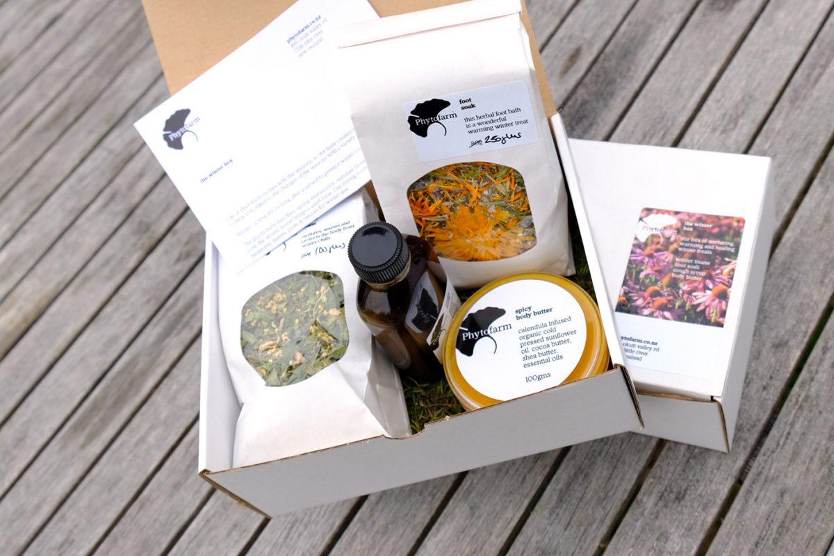 the winter box phytofarm little river herbal garden. Black Bedroom Furniture Sets. Home Design Ideas